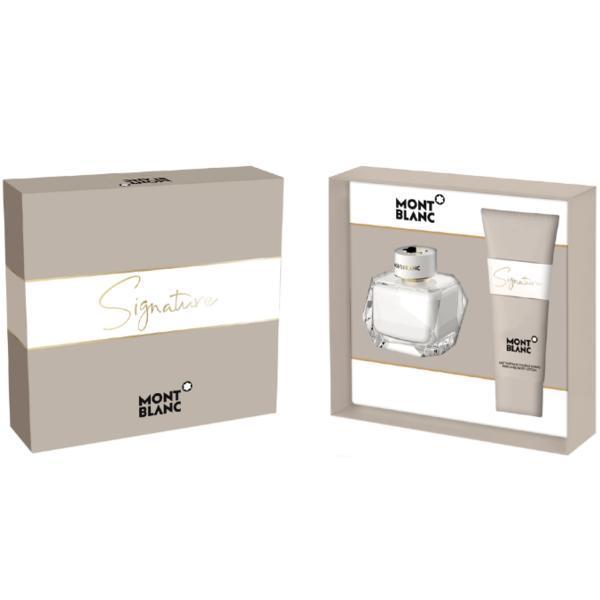 Set Mont Blanc, Signature, Femei: Apa de Parfum, 50 ml + Lotiune de corp, 100 ml