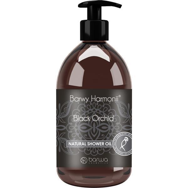 Ulei natural de dus cu orhidee neagra, Harmony, Barwa Cosmetics, 440 ml
