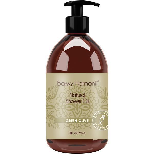 Ulei natural de dus cu masline verzi, Harmony, Barwa Cosmetics, 440 ml