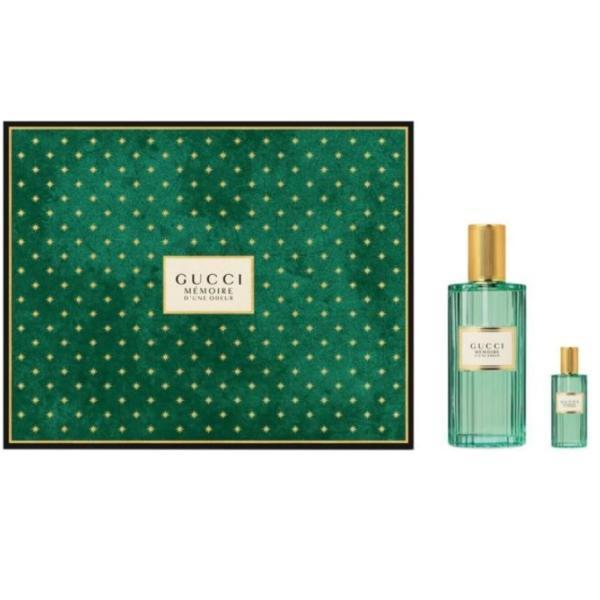 Set cadou Gucci Apa de Parfum Unisex, Memoire D'une Odeur, Apa de parfum 60 ml, Apa de parfum 5 ml