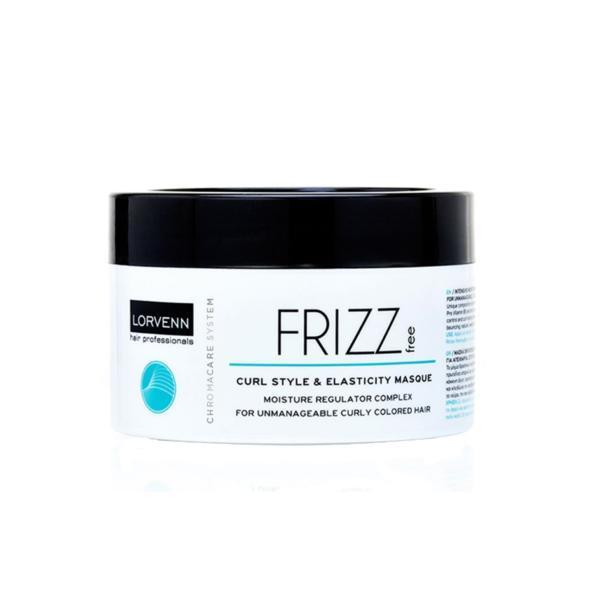 Masca pentru par cret Lorvenn Frizz free Curl & Elasticity 500 ml