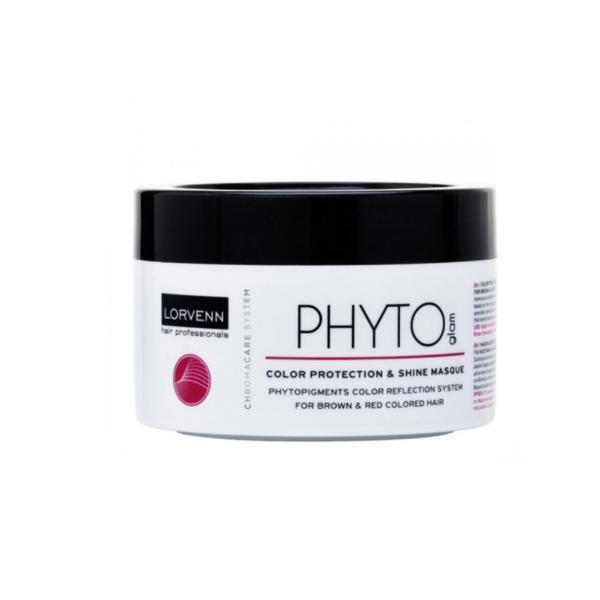 Masca pentru par vopsit Lorvenn Phyto glam color shine & care 500 ml
