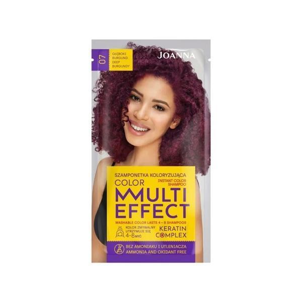 Sampon nuanțator fără amoniac Joanna Multi Effect 07 burgund intens, 35ml esteto.ro
