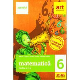 Esential. Matematica - Clasa 6. Partea II - Marius Perianu, Catalin Stanica, editura Grupul Editorial Art