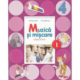 Muzica si miscare Clasa 4 Caiet Sem.1 + CD - Florentina Chifu, Petre Stefanescu, editura Litera