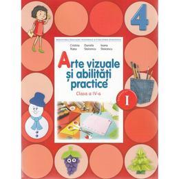 Arte vizuale si abilitati practice Clasa 4 Caiet Sem.1 + CD - Cristina Rizea, Daniela Stoicescu, editura Litera