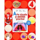 Arte vizuale si abilitati practice Clasa 4 Caiet Sem. 2 + CD - Cristina Rizea, Daniela Stoicescu, editura Litera