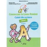 Comunicare in limba romana - Clasa 1 - Caiet de scriere (model I) - Mihaela Serbanescu, editura Tiparg