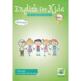 English for Kids - Clasa 3 - Caiet. Ed.2017 - Rodica Dinca, editura Booklet