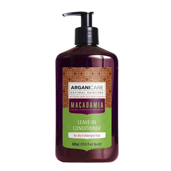 Balsam Ultra Hidratant Fara Clatire cu Ulei de Macadamia pentru Par Uscat si Deteriorat Arganicare, 400 ml