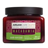 Masca Reparatoare cu Ulei de Macadamia pentru Par Uscat si Deteriorat Arganicare, 500 ml