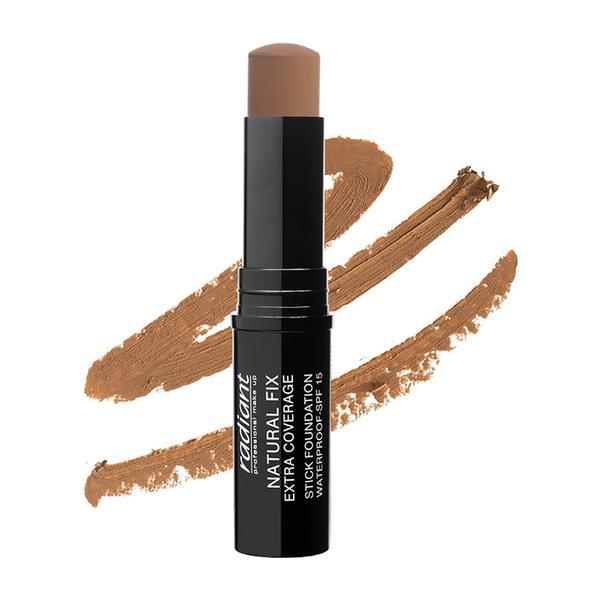 Fond Ten Stick Natural Fix Extra Coverage,Sp 15,Radiant, 07 Cinammon, 8.5g