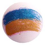 Bomba de baie efervescenta Fizzy Bomb, uriasa, cu unt de shea si aroma puternica Sweet Bubblegum 180 g