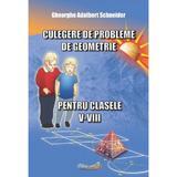 Culegere de probleme de geometrie - Clasele 5-8 - Gheorghe Adalbert Schneider, editura Hyperion