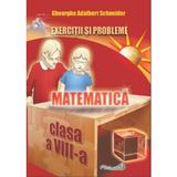 Matematica - Clasa 8 - Exercitii si probleme - Gheorghe Adalbert Schneider, editura Hyperion