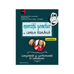 Exercitii practice de limba romana - Clasa 8 - Consolidare - Mina-Maria Rusu, Geanina Cotoi, editura Paralela 45