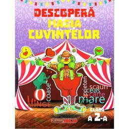 Descopera magia cuvintelor - Clasa 2 - Caiet - Alexandrina Dumitru, Viorel-George Dumitru, editura Trend