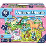 Puzzle prietenii unicornului - U=Ynicorn friends 4 ani+