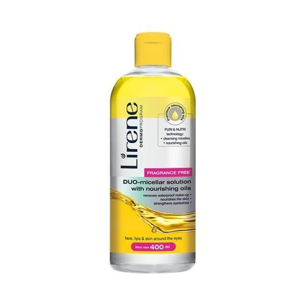 Apa micelara cu ulei de ricin, Lirene Dermo Program, 400ml