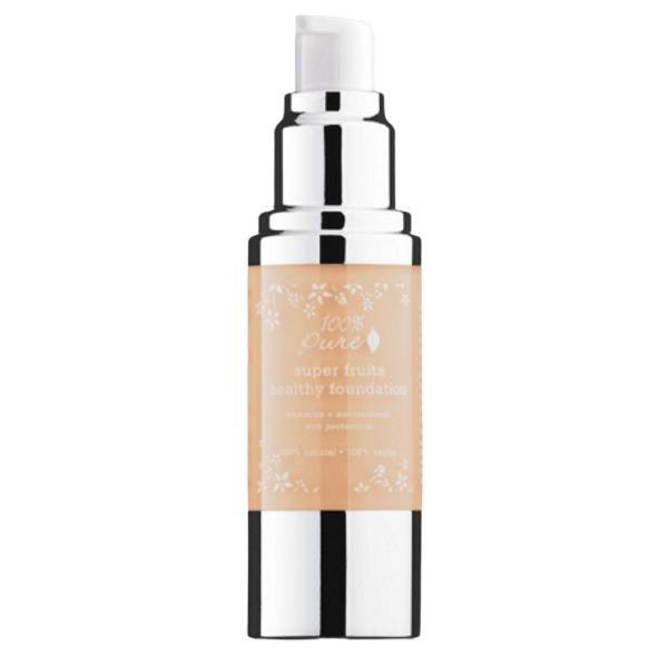 Fond de Ten Acoperire Totala si Protectie Solara 100 Percent Pure Cosmetics 30 ml, nuanta Sand
