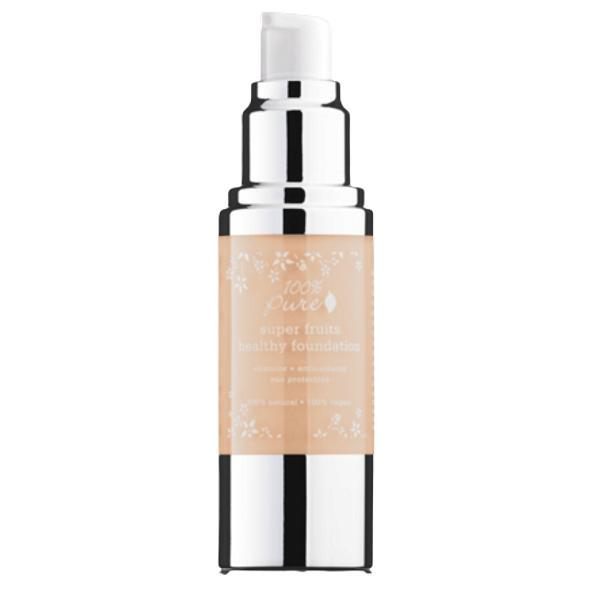 Fond de Ten Acoperire Totala si Protectie Solara 100 Percent Pure Cosmetics 30 ml, nuanta White Peach
