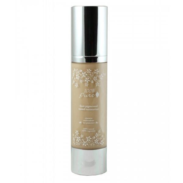 Crema Hidratanta Nuantatoare cu Antioxidanti 100 Percent Pure Cosmetics 50 ml, nuanta White Peach