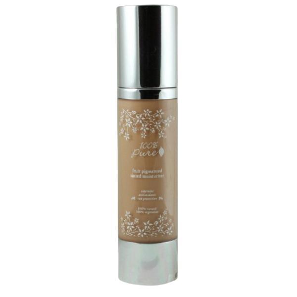 Crema Hidratanta Nuantatoare cu Antioxidanti 100 Percent Pure Cosmetics 50 ml, nuanta Golden Peach
