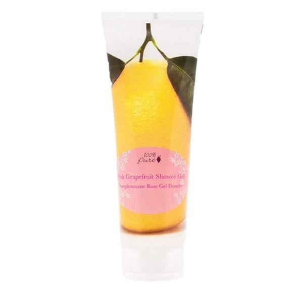 Gel de Dus cu Aroma de Grapefruit Roz 100 Percent Pure Cosmetics, 236 ml