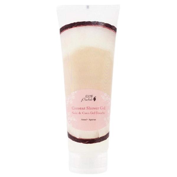 Gel de Dus cu Aroma de Nuca de Cocos 100 Percent Pure Cosmetics, 236 ml