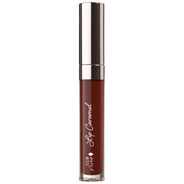 Ruj Lichid Lip Caramel 100 Percent Pure Cosmetics, nuanta Plum Wine, 5 g