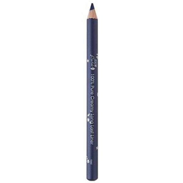 Creion Dermatograf Rezistent la Transfer Royal Albastru Inchis 100 Percent Pure Cosmetics, 1 buc