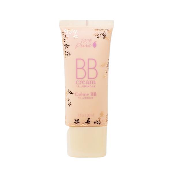 BB Cream SPF 15 100 Percent Pure Cosmetics 30 ml, nuanta 10 Luminous