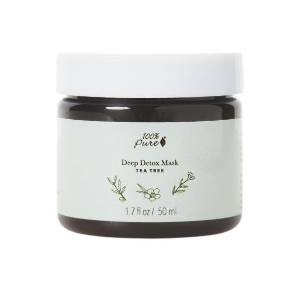Masca Detoxifianta cu Arbore de Ceai 100 Percent Pure Cosmetics, 50 ml