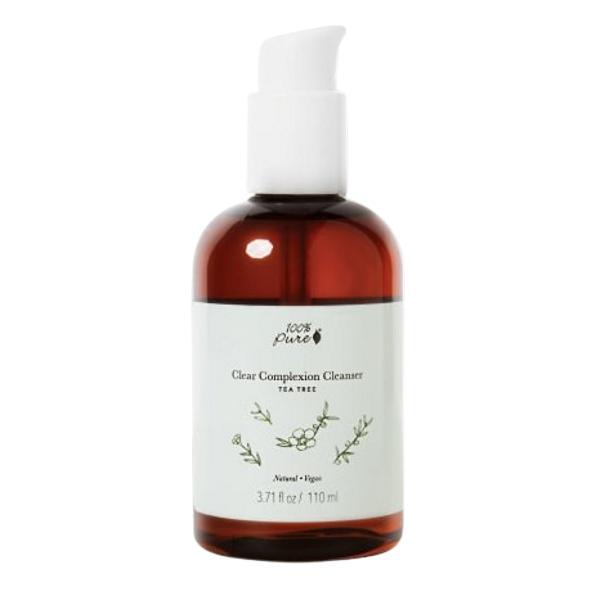 Lotiune de Curatare Purifianta cu Arbore de Ceai 100 Percent Pure Cosmetics, 110 ml