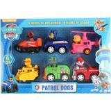 Set 6 vehicule Patrula Catelusilor cu frictiune - Paw Patrol