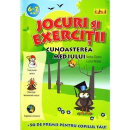 Jocuri si exercitii Cunoasterea Mediului 6-7 ani - Rodica Cislariu. Lucica Nicolau, editura Gama