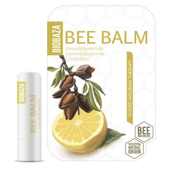 Balsam de Buze Nutritiv Lemon & Buttermilk Biobaza, 4,5 g esteto.ro