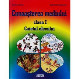 Cunoasterea mediului cls 1 caiet - Sorina Cuzum, Gabriela Vasiloanca, editura Sigma