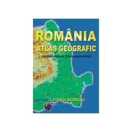 Romania, atlas geografic - Marius Lungu, editura Steaua Nordului