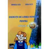 Exercitii de limba romana pentru cls 3 - Mihaela Lica, Irina Nuta, editura Aius