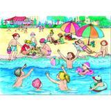Jocurile copiilor vara si iarna - 6 planse A3, editura Aramis