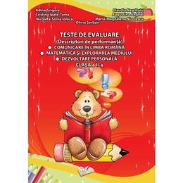 Teste de evaluare - Clasa 2 - Adina Grigore, editura Ars Libri