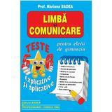 Limba si comunicare. Teste clasa 5-6 explicate si aplicative - Mariana Badea, editura Badea & Professional Consulting