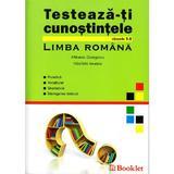 Testeaza-ti cunostintele Romana Cls 5-8 - Mihaela Georgescu, Nicoleta Ionescu, editura Booklet