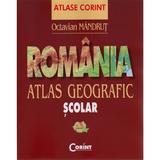 Romania. Atlas geografic scolar - Octavian Mandrut, editura Corint