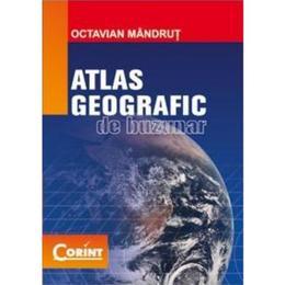Atlas geografic de buzunar ed.2013 - Octavian Mandrut, editura Corint