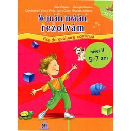 Invatam, rezolvam 5-7 ani grupa mare - Selia Pelinaru, Georgeta Ionescu, editura Didactica Publishing House