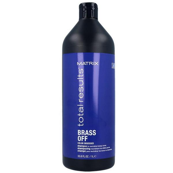 Sampon Neutralizator pentru Par Blond - Matrix Total Results Brass Off Color Obsessed Shampoo,1000 ml