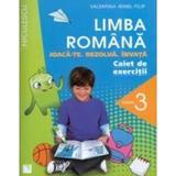 Romana Cls 3 Caiet de exercitii - Valentina Irinel Filip, editura Niculescu