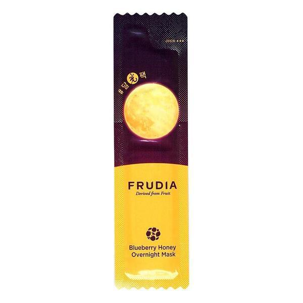 Masca de fata hidratanta pentru noapte cu extract de afine si miere de albina, Frudia Bluberry Honey Overnight Mask 5ml esteto.ro
